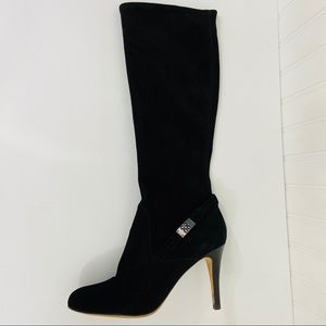 COACH Pull-on Black Suede Boot